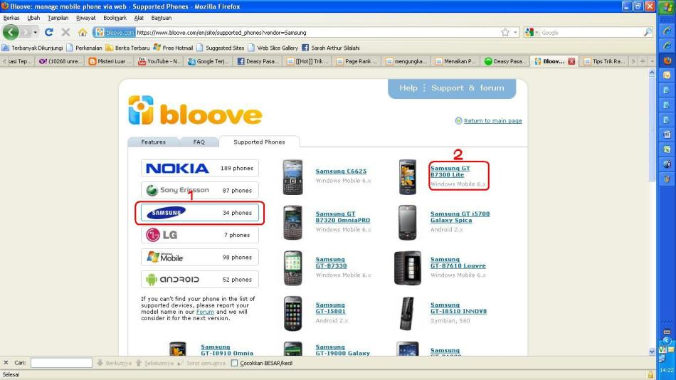 facebook chat nokia x2 software